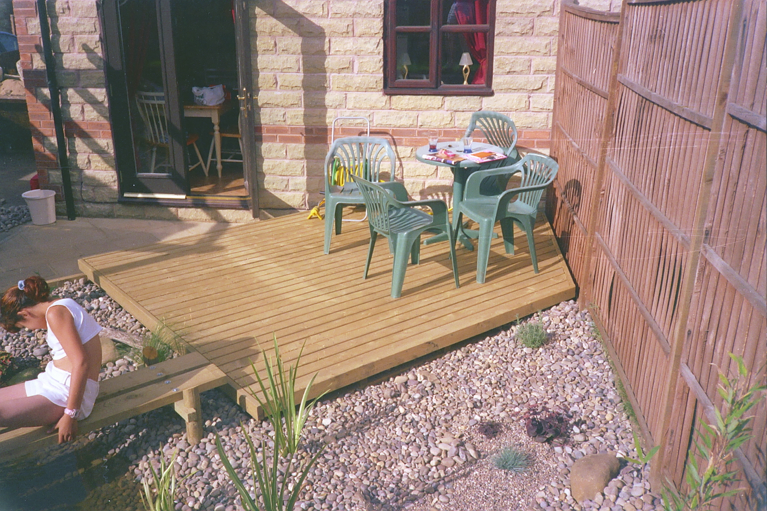 Deck for Garden decking examples