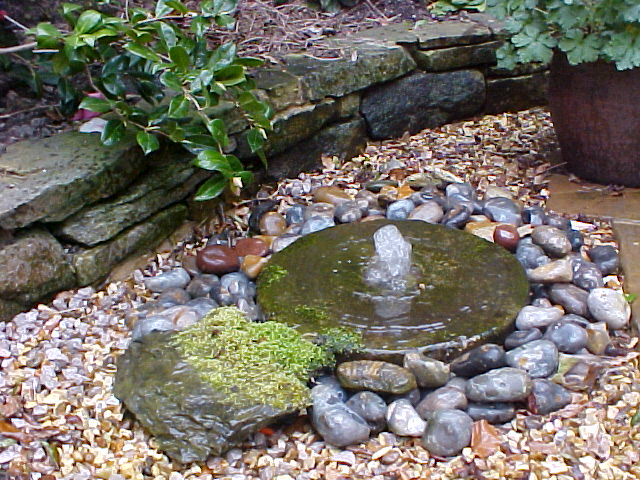 Easy Outdoor Water Features : Water Features